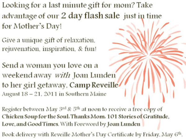 Mother's day flash sale 2