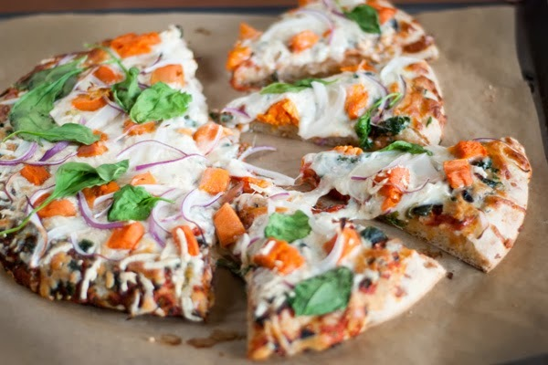 Fall harvest vegetable pizza recipe