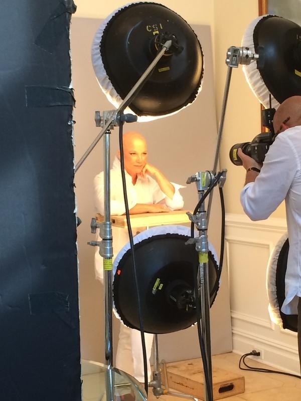 Joan bald