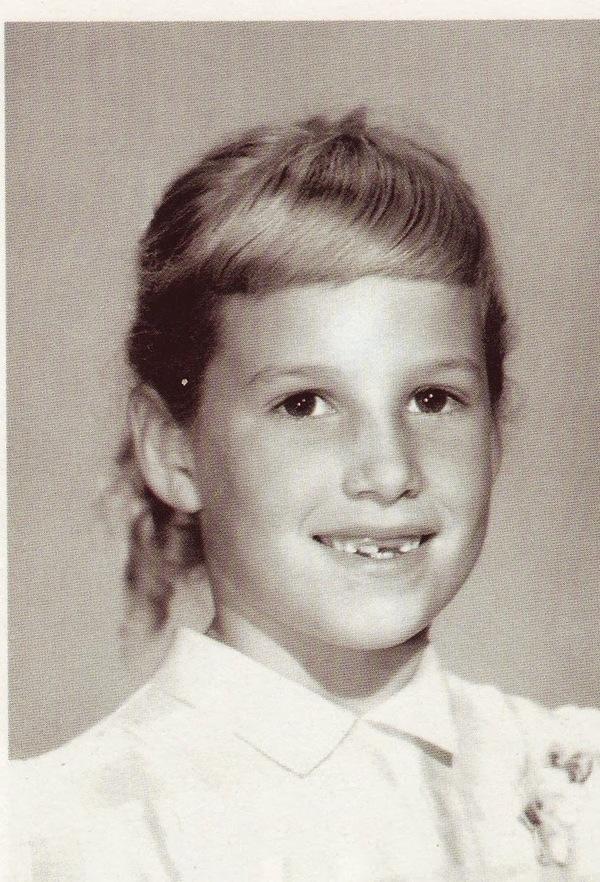 Joan as little girl