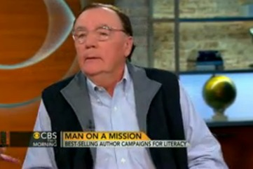 James patterson best selling author campaigns for literacy cbs