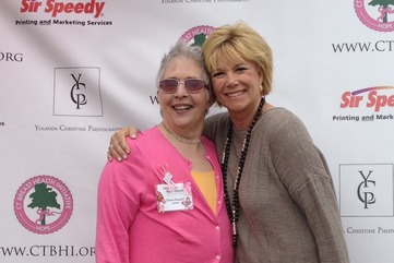 Eileen kaplan is a breast cancer survivor  and joan lunden