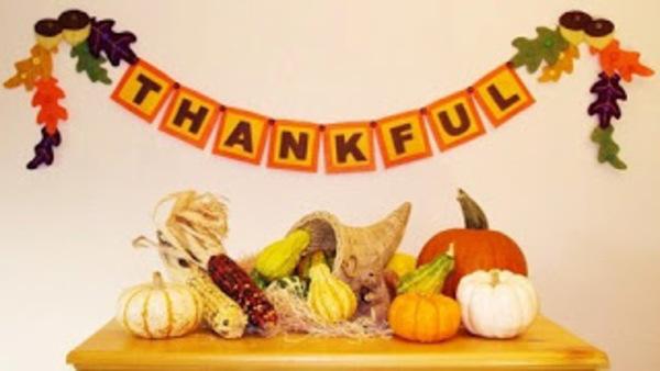 Thanksgiving crafts to make thankful