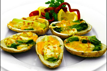 Potato skins large