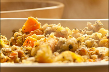Cornbread stuffing large