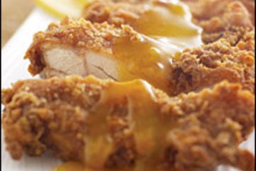 Unfried chicken large