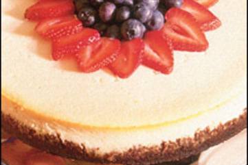 Vanilla cheesecake large