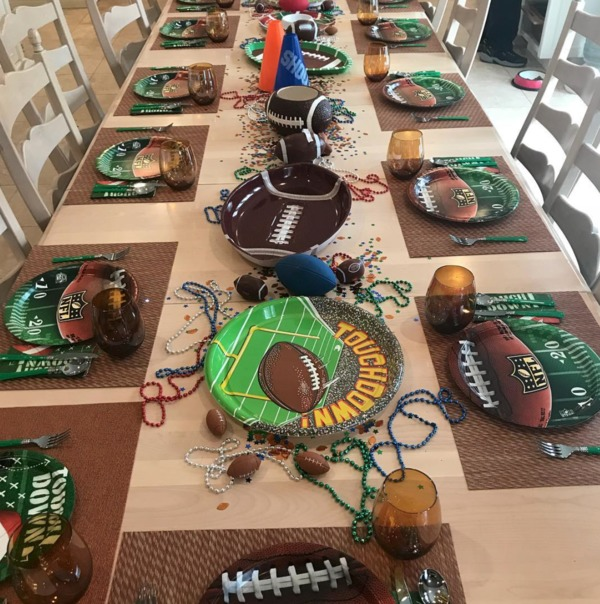 2.4 superbowl party