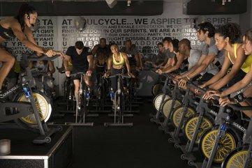 Soul cycle studio class 1