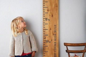 Creating growth chart ruler