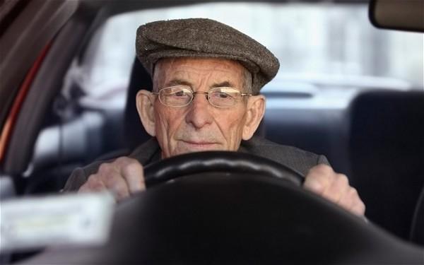 Elderly driver 2164765b