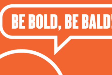 Be bold be bald cover