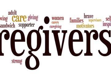 Caregivers screen shot