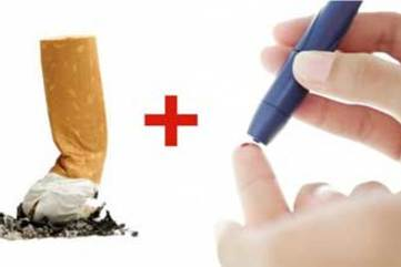 Smoking cigarettes diabetes