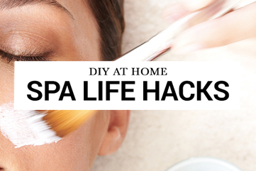 Cover diy at home spa life hacks