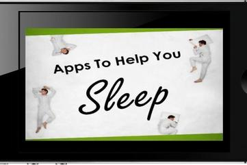 Iphone apps to help you sleep