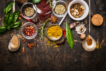 Fall herbs and spices