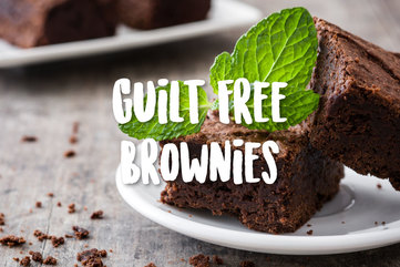 Guilt free brownies og