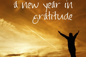 A new year in gratitude