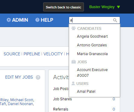JobScore Improved Instant Search
