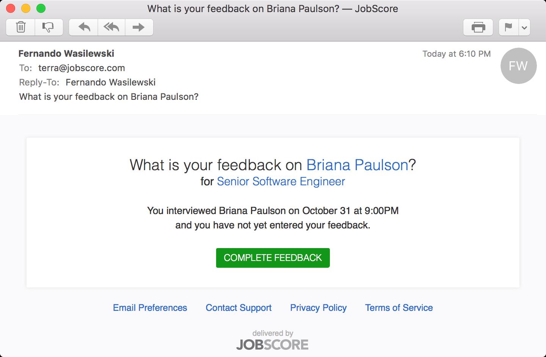updates what s new in jobscore note alert