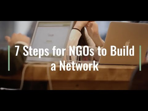 7 Steps for NGOs for Building a Network