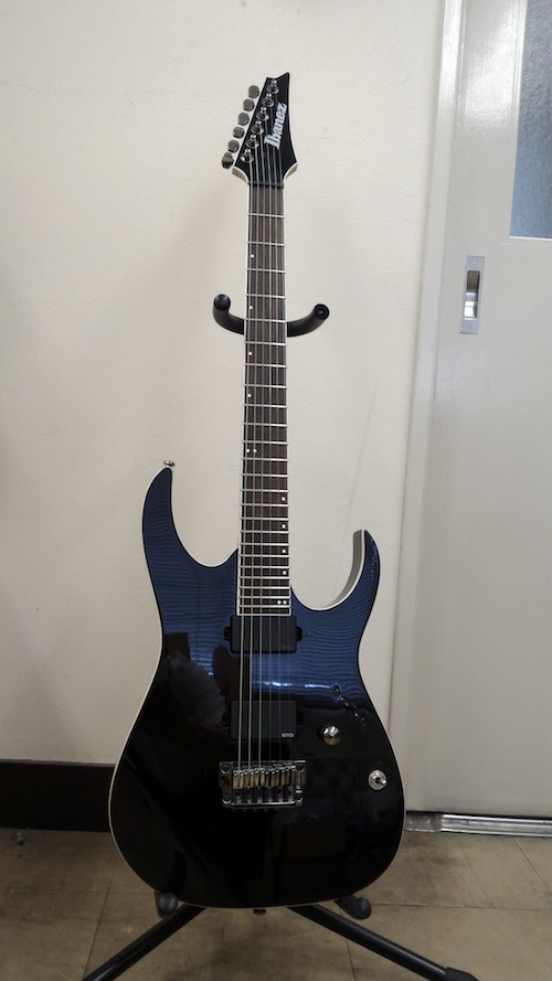 Ibanez Guitar with small custom dots