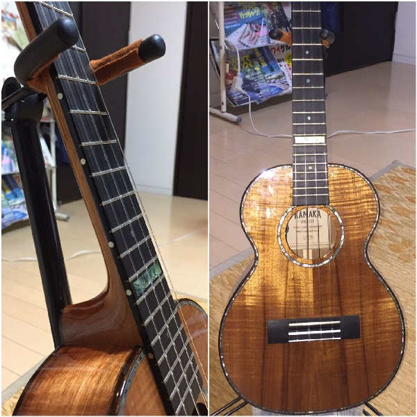 kamaka Ukulele with name inlay sticker