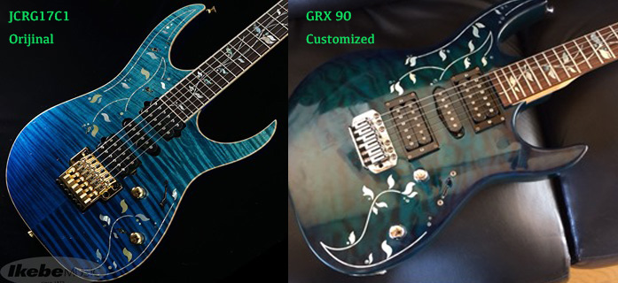 Ibanez Gio GRX90 J.Custom Vine Inlay