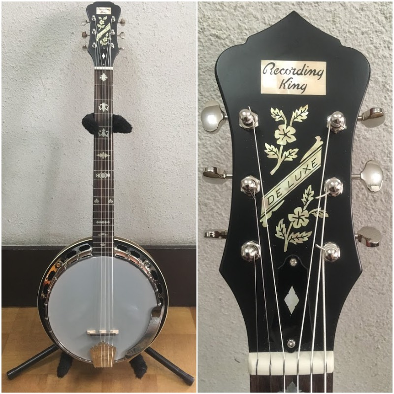 Epiphone Old style Inlay with Banjo