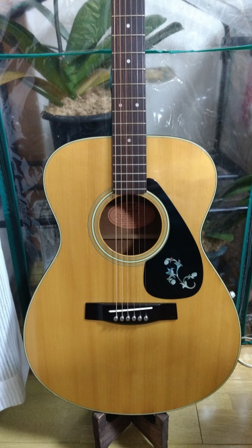 YAMAHA FG-152B with Taylor bird inlay on pick guard