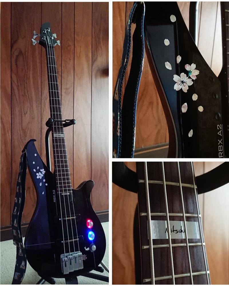 YAMAHA RBX-4A2 JBL 桜インレイ
