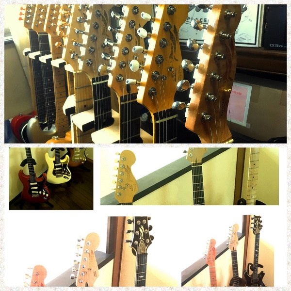 Stratocaster and Telecaster Guitar Headstock Inlaysticker