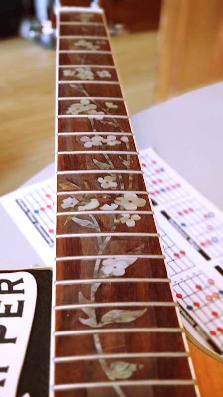 Inlaystickers Fret Markers Bird