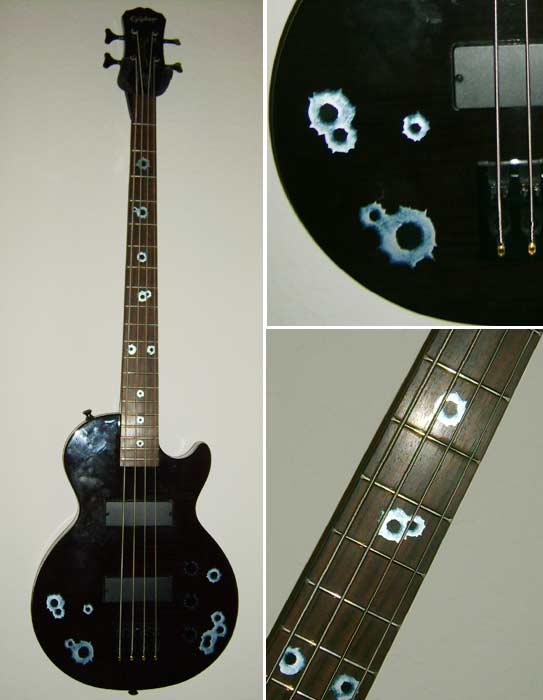 The Epiphone Les Paul Special Bass