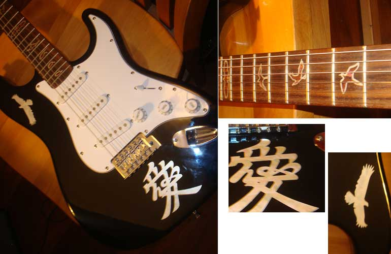 I'd show you what your stickers have done to my guitar
