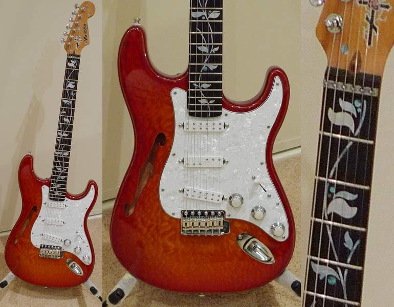 look gorgeous on my new custom build guitar