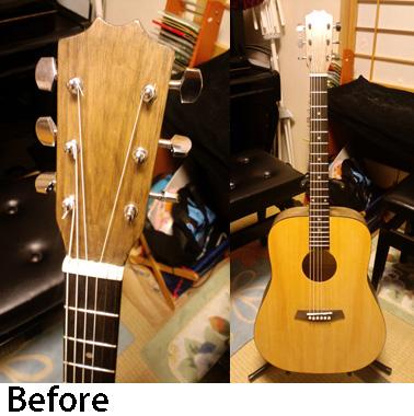 ハンドメイドのギター