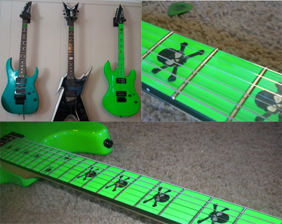 Dean Custom Zone guitar they look amazing!