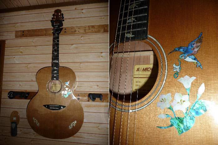 サミックのジャンボギターTAJ-1