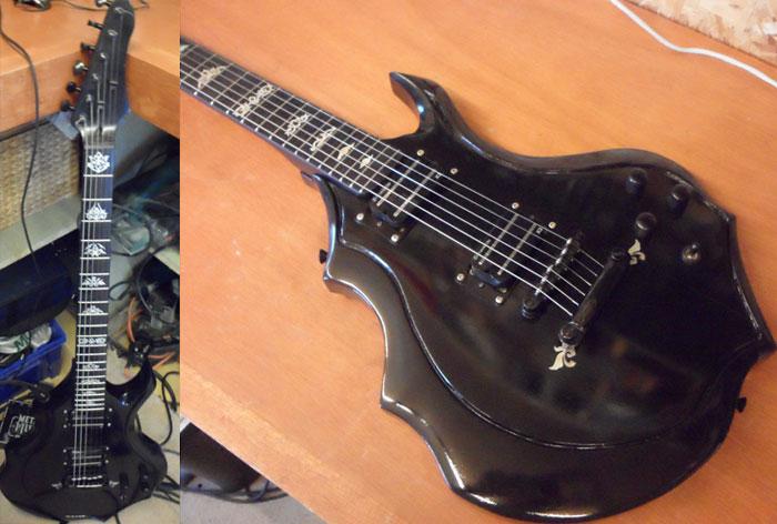 hand-made guitar
