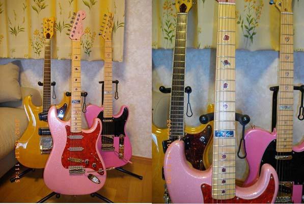 スパークリング・ピンクのストラト