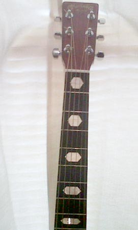 Hexagon Fret Markers