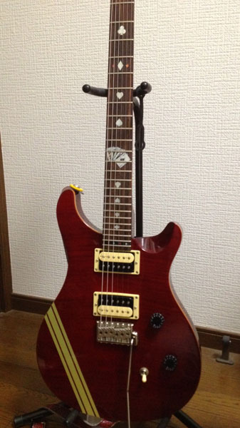 PRS SE Custom 24 バードインレイ