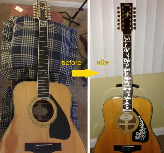 YAMAHA 12-String Guitar