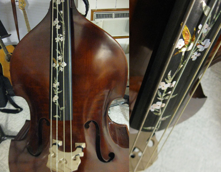 my upright bass