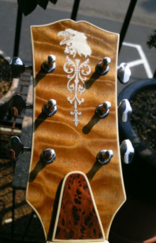 headstock inlay decal