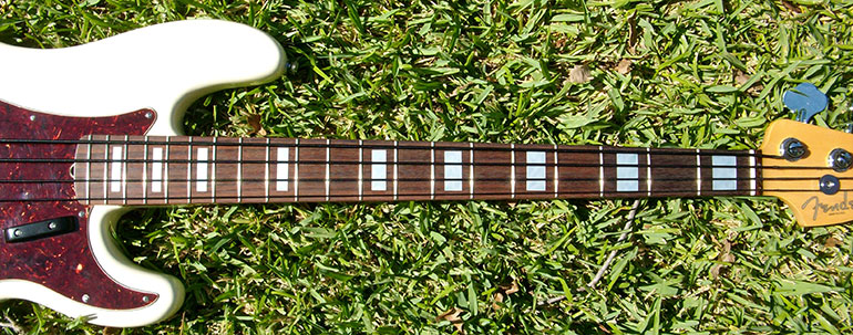 Jazz Bass fret inlay sticker