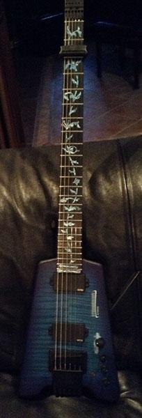 トランススケール ギター ステッカー