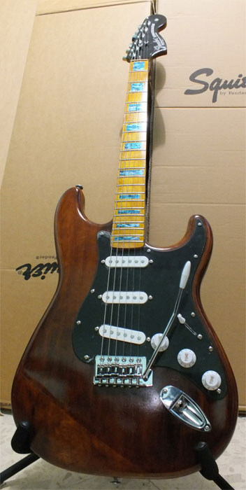 Squier Affinity inlay decal